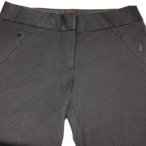 LOFT SKINNY BLACK DRESS PANTS SIZE 4